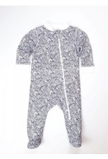 Feather Baby   Anime Wave Zipper Footie