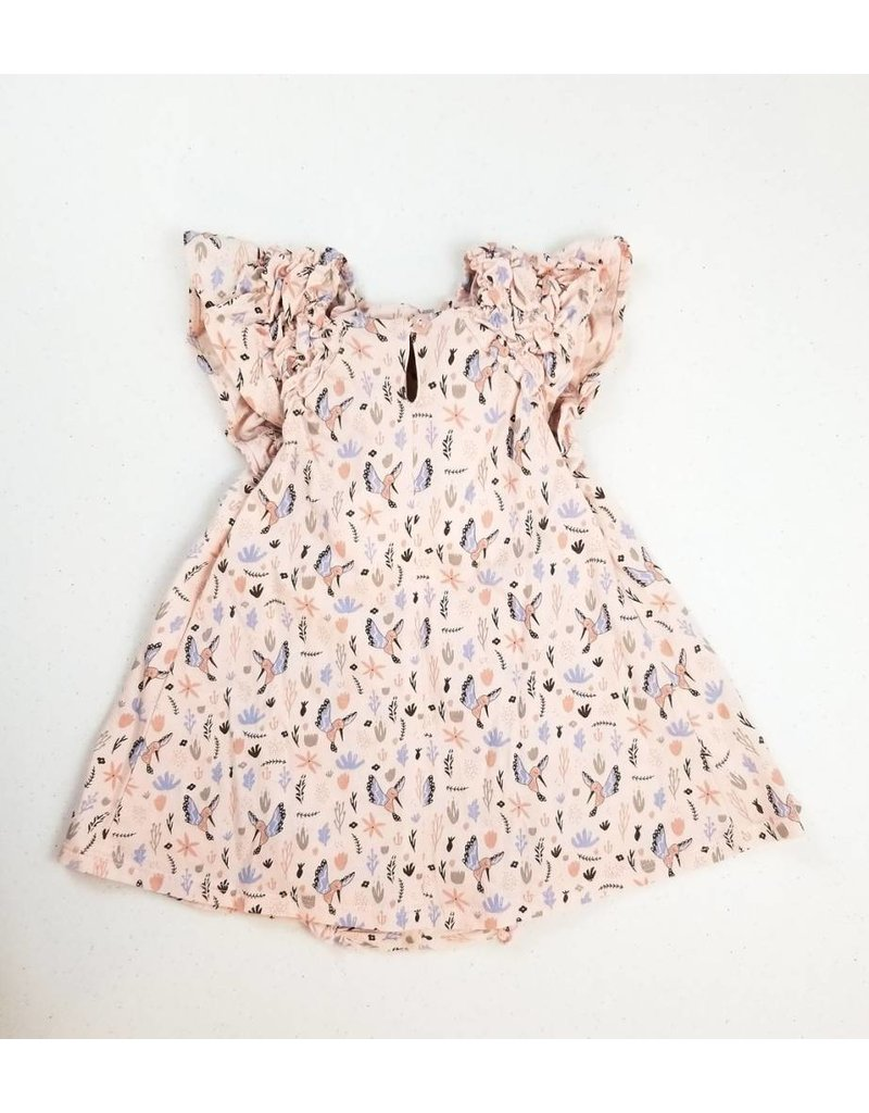 Feather Baby |Winged Bird Bubble Dress