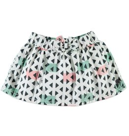 BabyFace Babyface | Triangles Woven Skirt