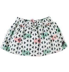 BabyFace Babyface | Triangles Woven Skirt
