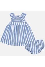 Mayoral Mayoral | Nautical Stripe Baby Dress