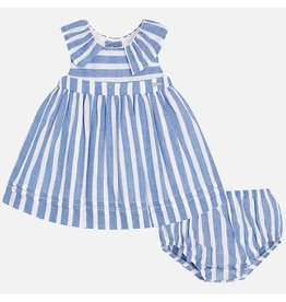 Mayoral Mayoral | Nautical Stripe Baby Dress