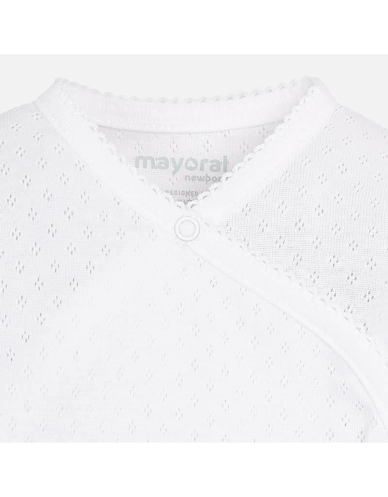 Mayoral Mayoral | Eyelet Wrap Bodysuit