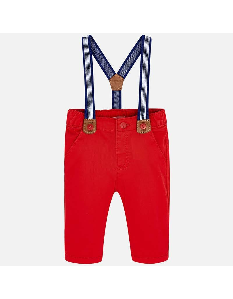 Mayoral Mayoral | Baby Trousers with Suspenders