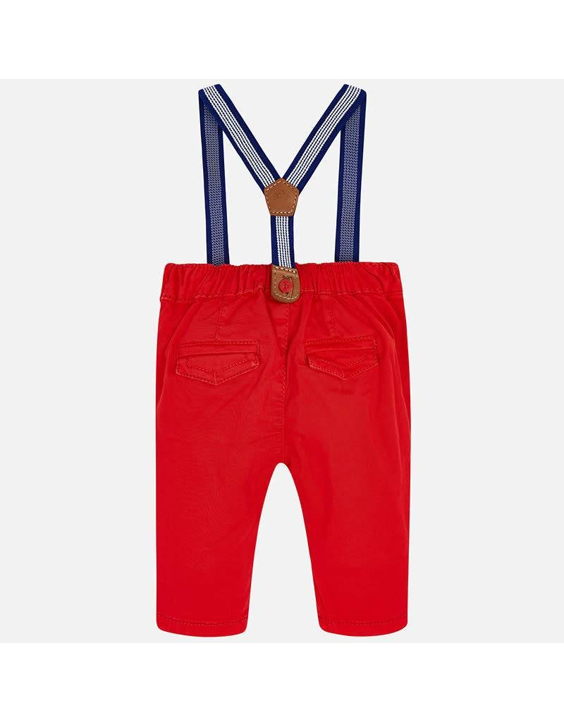 Mayoral Mayoral   Baby Trousers with Suspenders
