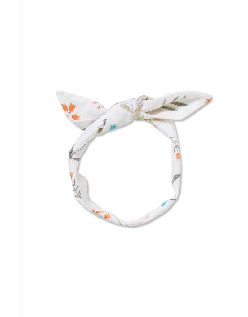 Angel Dear Angel Dear  Swan Floral Headband