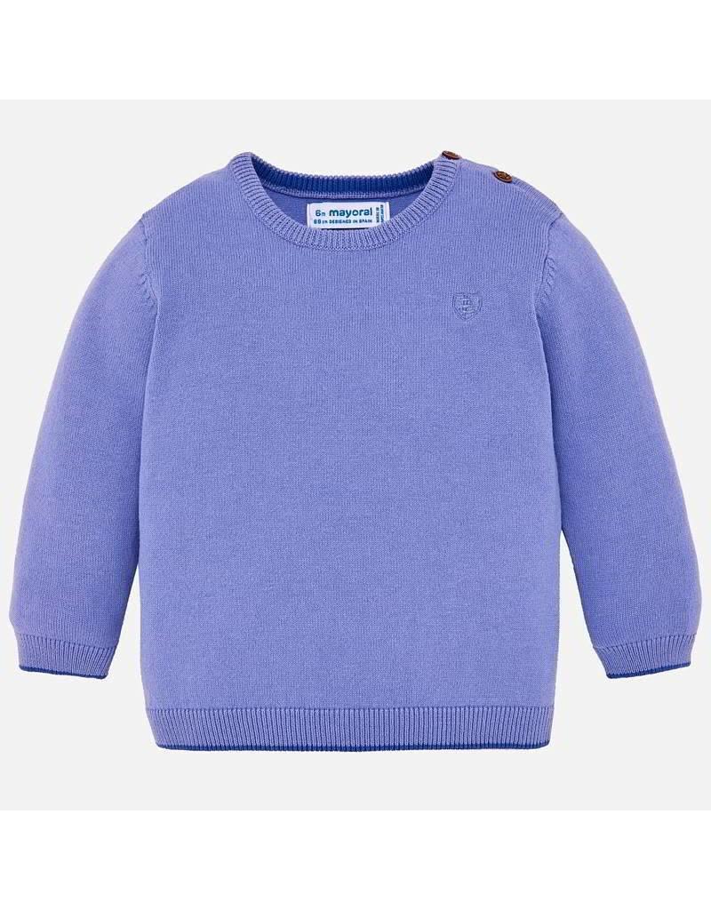 Mayoral Mayoral | Crewneck Baby Sweater