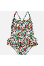 Mayoral Mayoral | Floral Baby Swimsuit
