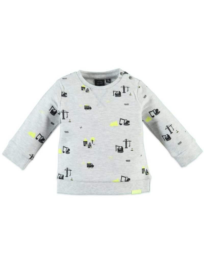 BabyFace Babyface  Construction Print Sweatshirt