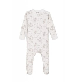Feather Baby | Vintage Hawaii Zipper Footie