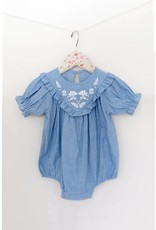 Mae Li Rose |Chambray Onesie