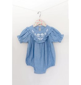 Mae Li Rose | Chambray Onesie