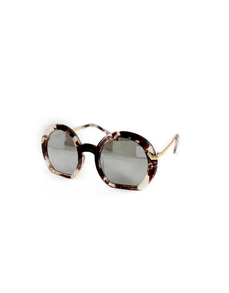 Mae Li Rose | Round Sunglasses