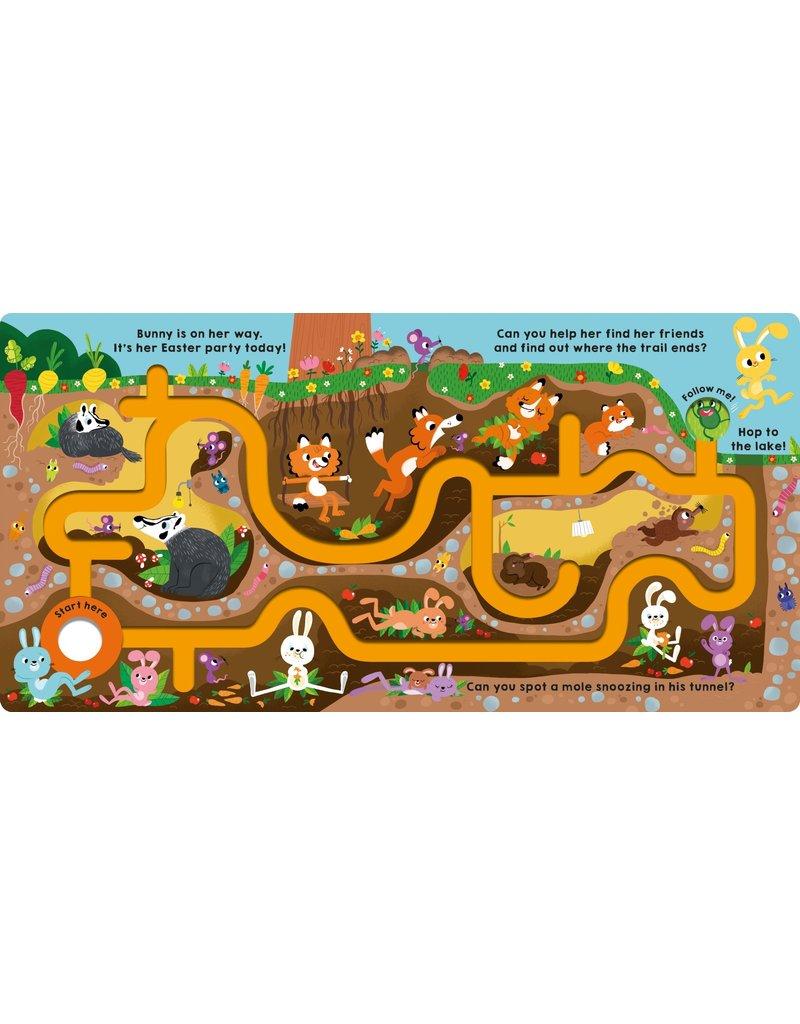 Maze Book | Follow the Bunny