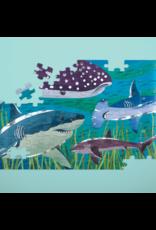 100pc Foil Puzzle | Sharks