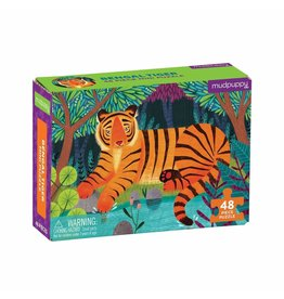 48 pc Mini Puzzle | Bengal Tiger