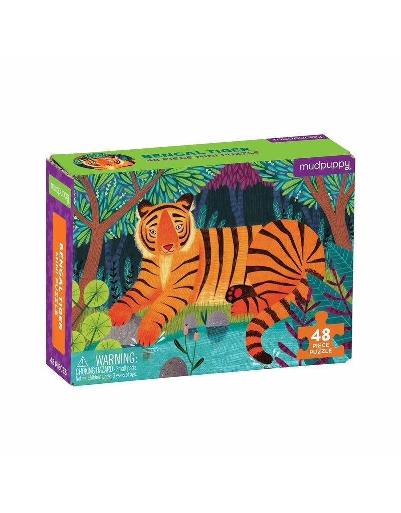 48 pc Mini Puzzle | Bengal Tiger