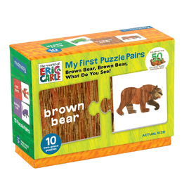 My First Puzzle Pairs | Brown Bear