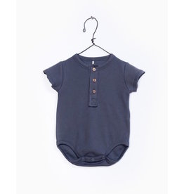 Play Up Play Up | Organic Henley Bodysuit