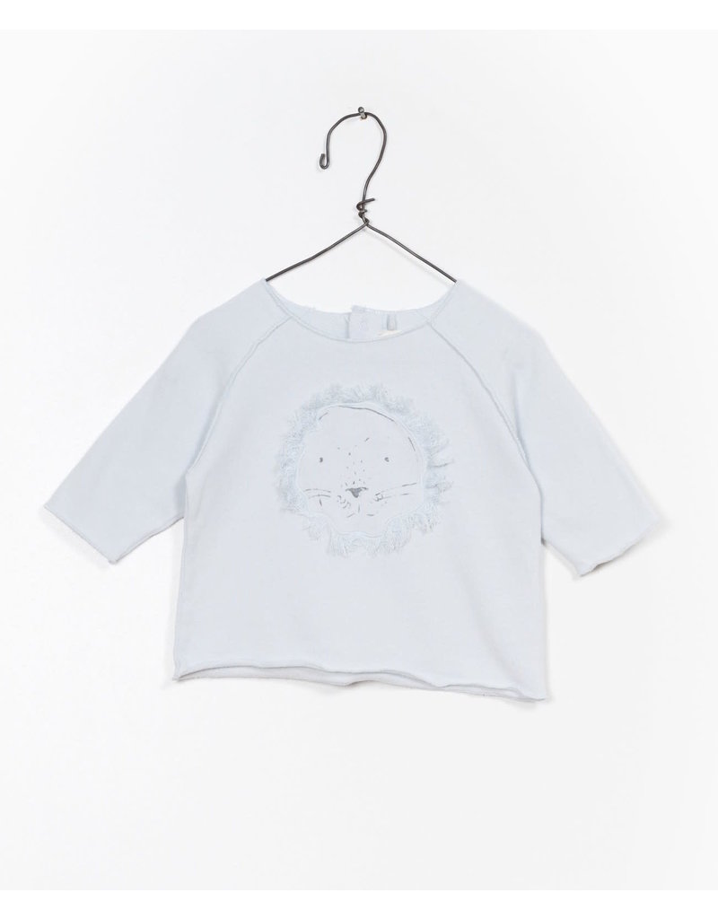 Play Up Play Up | Organic Lion Baby Pullover