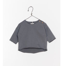Play Up Play Up | Organic Button Shoulder Baby Pullover