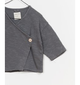 Play Up Play Up | Organic Slub Knit Wrap Cardigan