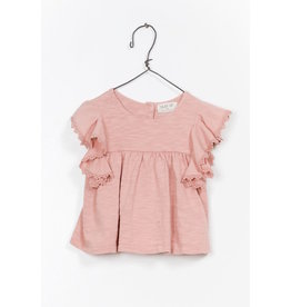 Play Up Play Up | Organic Flutter Sleeve Baby Tee