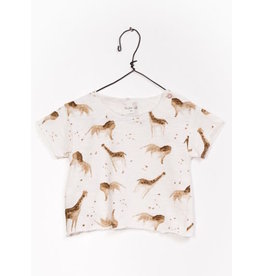 Play Up Play Up | Organic Safari Print Tee