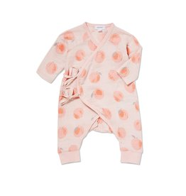 Angel Dear Angel Dear | Muslin Peachy Wrap Coverall