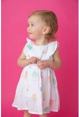 Angel Dear Angel Dear | Muslin Sprinkles Dress & Bloomer Set