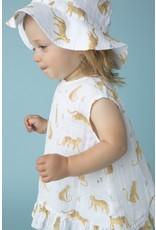 Angel Dear Angel Dear | Muslin Leopard Print Top & Bloomer Set