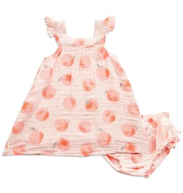 Angel Dear Angel Dear | Peachy Muslin Dress