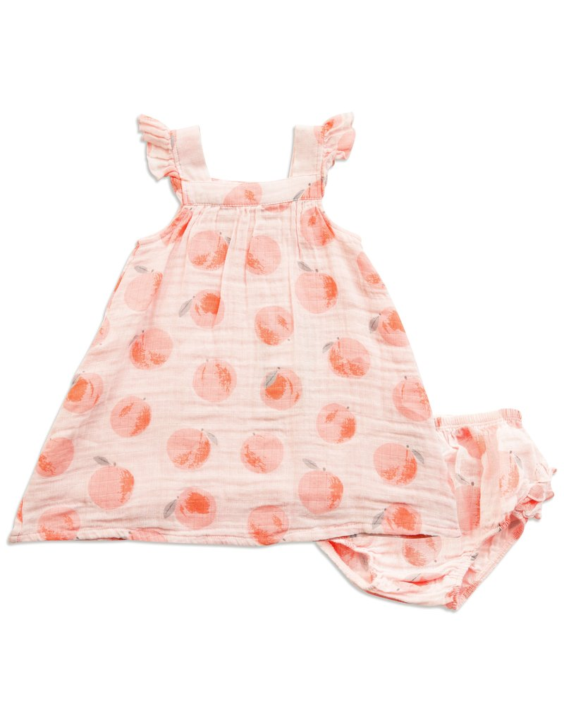 7d3ec8b69 Angel Dear | Peachy Muslin Dress - Nurture Baby