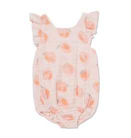 Angel Dear Angel Dear | Muslin Peachy Sunsuit