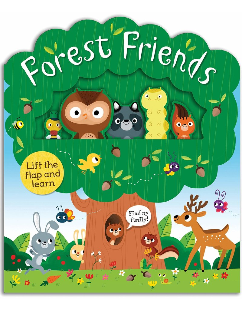 Forest Friends Lift-The-Flap Book
