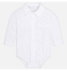 Mayoral Mayoral | Knit Button Down Bodysuit
