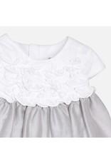 Mayoral Mayoral | Ruffle Bodice Contrast Dress