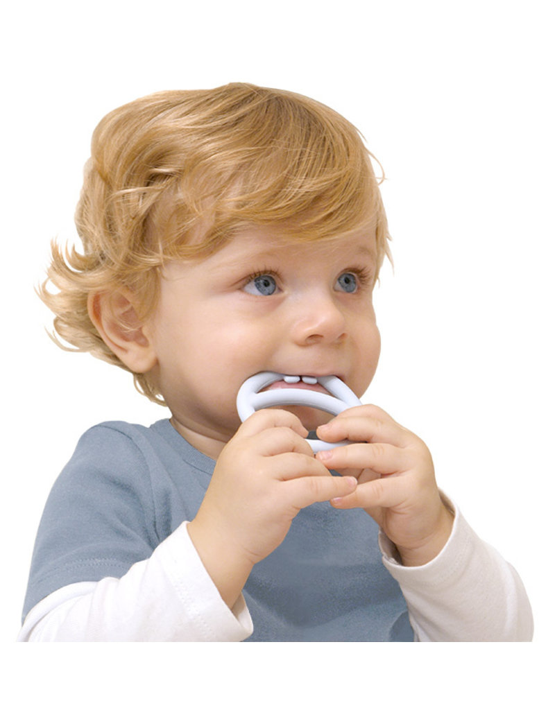 Kid O Nigi, Nagi, Nogi Pastel Teething Rings Set