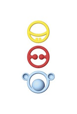 Kid O Nigi, Nagi, Nogi Primary Teething Rings Set