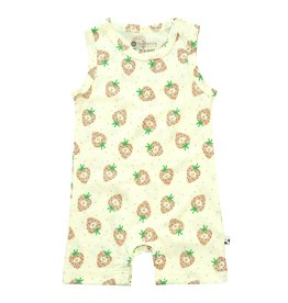 Baby Soy | Tank Romper in Strawberry