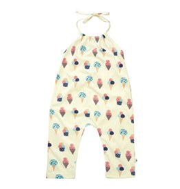 Baby Soy | Halter Romper in Ice Cream