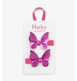 Hatley | Fuchsia Butterflies Hair Clips