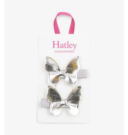 Hatley | Silver Glimmer Butterflies Hair Clips