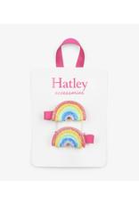Hatley | Double Rainbow Hair Clips