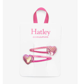 Hatley Hatley | Glimmer Hearts Snap Clips
