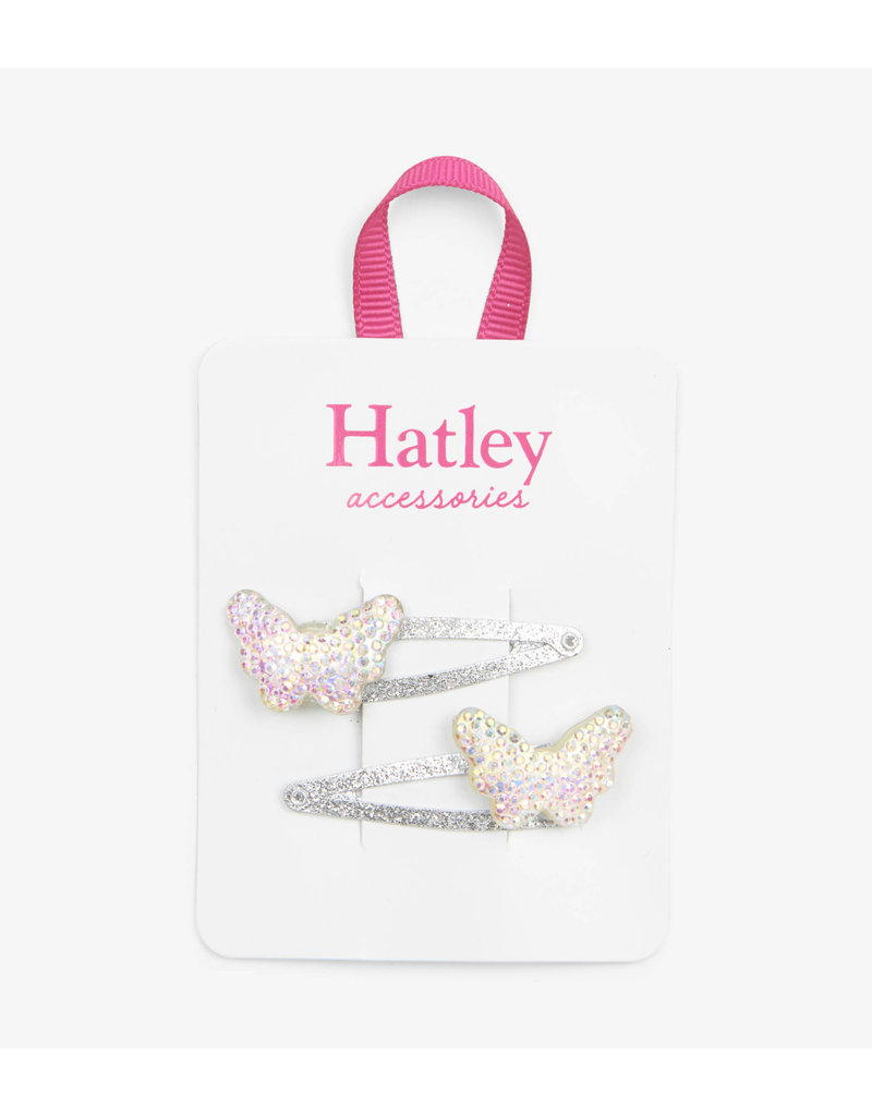 Hatley Hatley | Sparkling Butterflies Snap Clips
