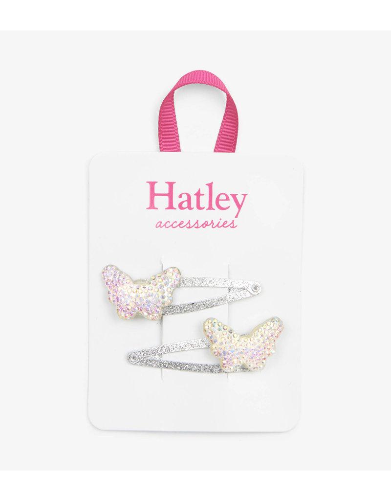 Hatley Hatley | Sparkling Butterflies Snap Clips
