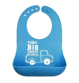 Bella Tunno Bella Tunno Wonder Bib | I Like Big Trucks