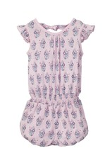 Feather Baby |Samantha Baby Tie Romper