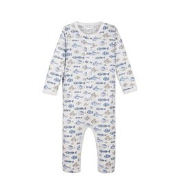 Feather Baby | Skinny Fish Long John Romper